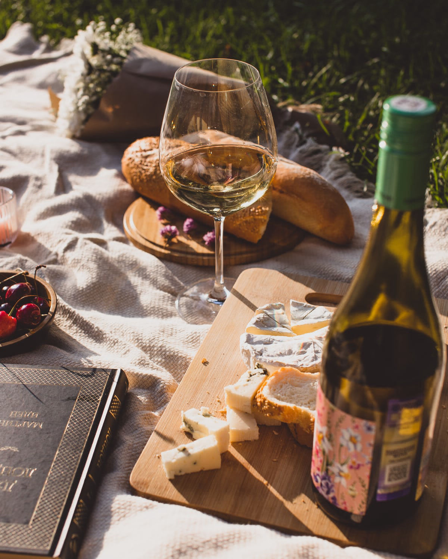 Tagliere e vino