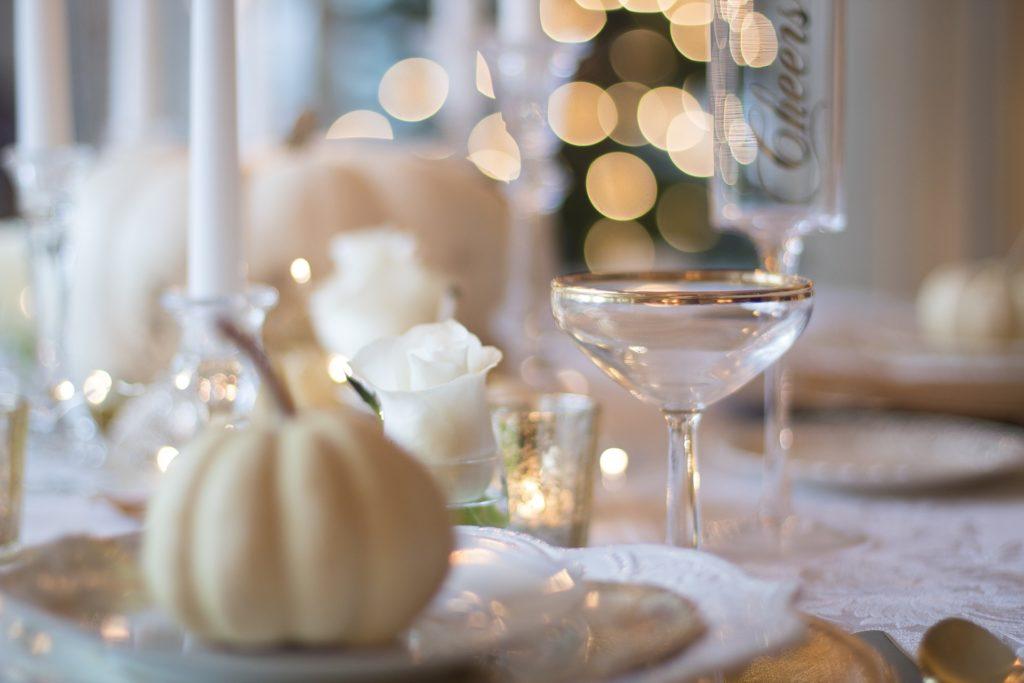 Capodanno in casa: decorazioni per la tavola